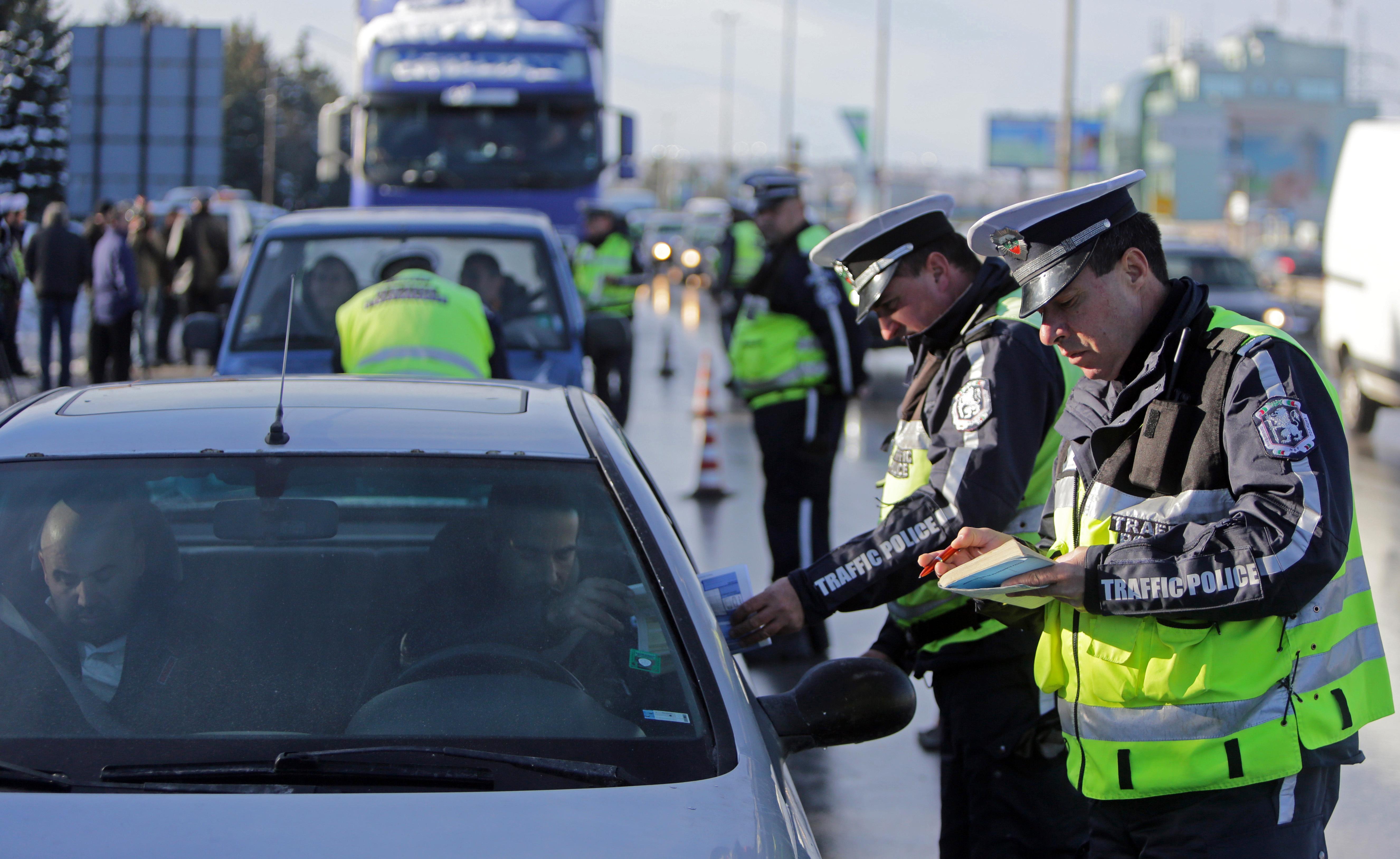 дорожная полиция Европы