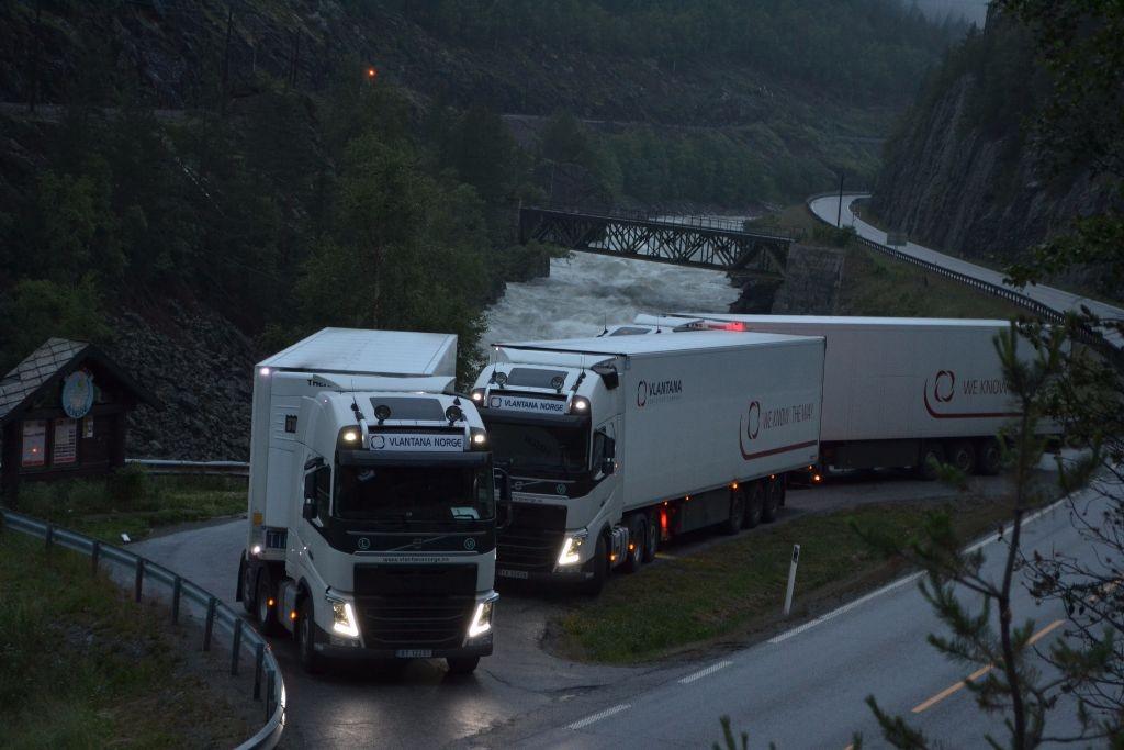 Vairuotojo darbas norvegijoje